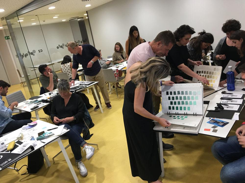 """Curso de color """"NCS para el Diseño"""" en Valencia"""