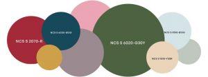 Combinación colores de tendencia 2021+