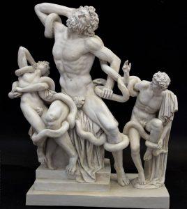 Escultura Laocoonte y sus hijos