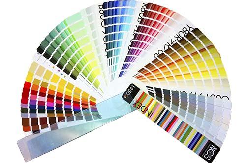 carta de colores para interiorismo