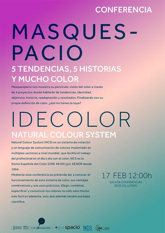 Conferencia en easd valencia de idecolor y masquespacio - Easd valencia ...