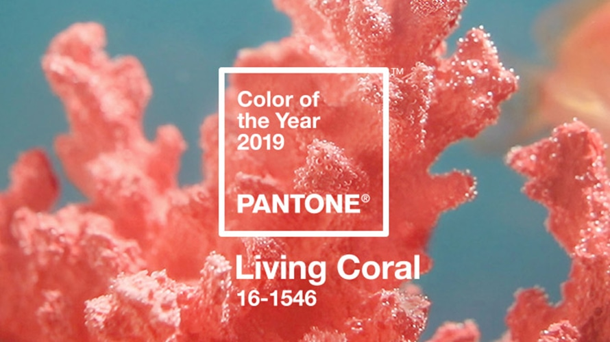 Pantone color of the year Living Coral 16-1546